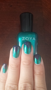 Zoya Giovanna with triangles deborah lippmann Ray of Light