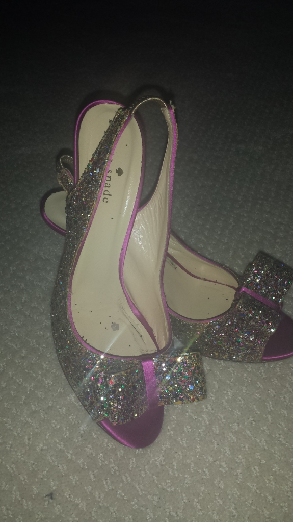kate spade 'charm' slingback pump aka wedding shoes
